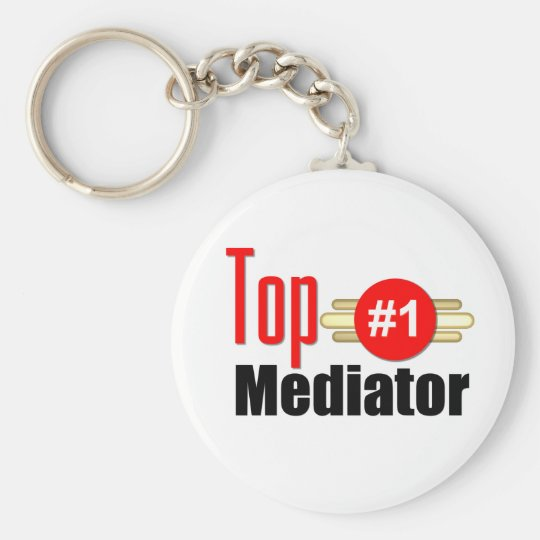 Top Mediator Keychain