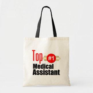 Top Medical Assistant Budget Tote Bag