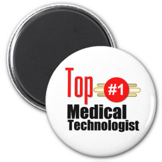 Top Medical Technologist 2 Inch Round Magnet