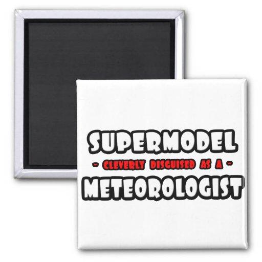 Top model. Meteorólogo Imán Cuadrado