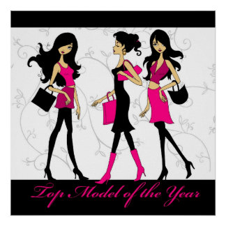 Top Model of the year Poster