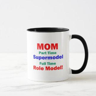 Top model por horas de la mamá taza