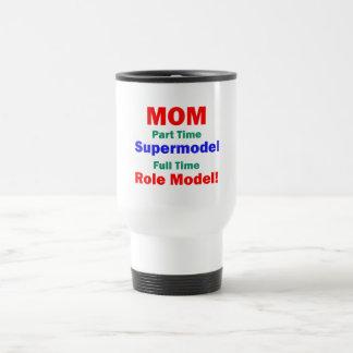 Top model por horas de la mamá taza de viaje