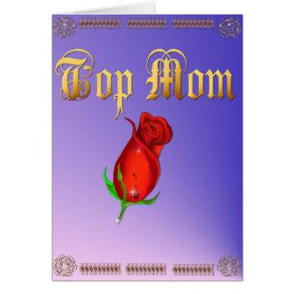 Top Mom  Card