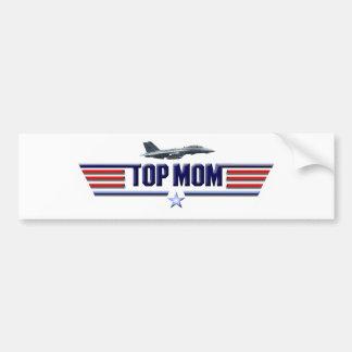 Top Mom Logo Bumper Stickers