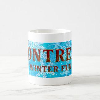 TOP Montreal Winter Fun Coffee Mug