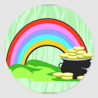 top morning4.jpeg classic round sticker