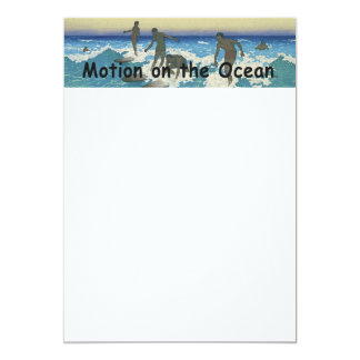 TOP Motion on the Ocean Card