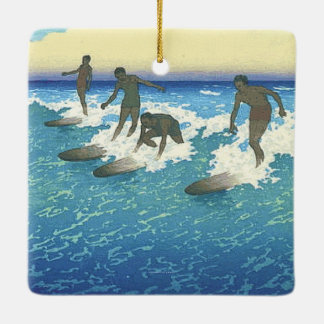 TOP Motion on the Ocean Ceramic Ornament