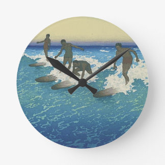 TOP Motion on the Ocean Wall Clocks