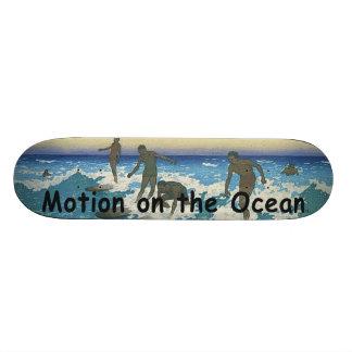 TOP Motion on the Ocean Skateboards