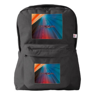 TOP Motorcycle Girl American Apparel™ Backpack