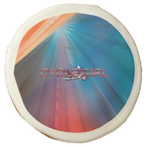 Cycle Girl Old Fashion Sugar Cookie