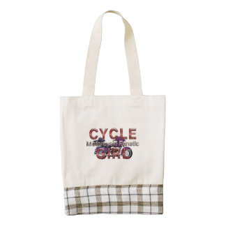 TOP Motorcycle Girl Zazzle HEART Tote Bag