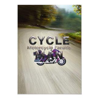 TOP Motorcycle Man Card