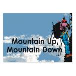 TOP Mountain Climbing Business Card