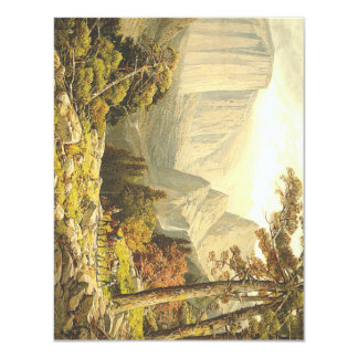 TOP Mountain Hike 4.25x5.5 Paper Invitation Card