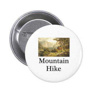 TOP Mountain Hike Pinback Button