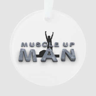 TOP Muscle Up Man Ornament