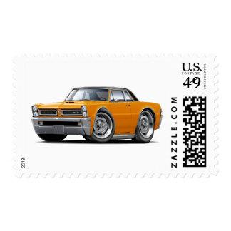 Top Naranja-Negro de 1965 GTO Sello