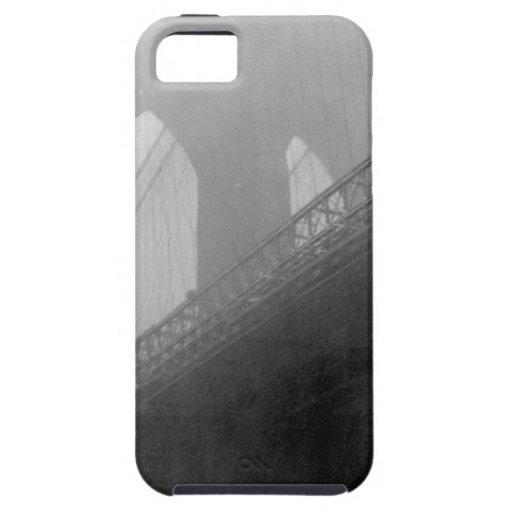 Top-Niebla del puente de Brooklyn iPhone 5 Protectores