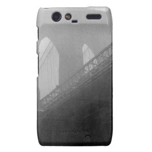 Top-Niebla del puente de Brooklyn Motorola Droid RAZR Carcasa
