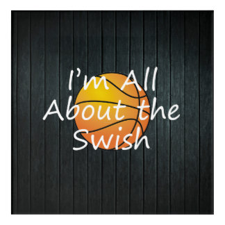 TOP Nothing But Swish Acrylic Print