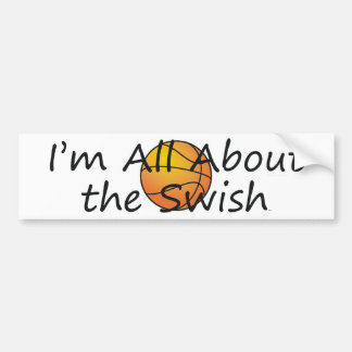 TOP Nothing But Swish Bumper Sticker