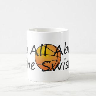 TOP Nothing But Swish Classic White Coffee Mug