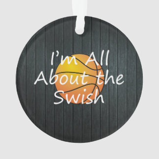 TOP Nothing But Swish Ornament