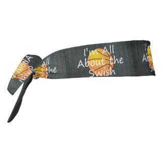 TOP Nothing But Swish Tie Headband