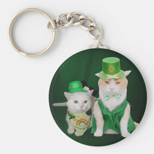 Top o' the Mornin' Bubba & Lucky Missy Key Chains