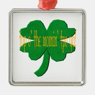Top O The Mornin To Ya Christmas Ornament
