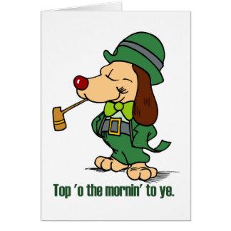 Top 'o the mornin' to ye Card