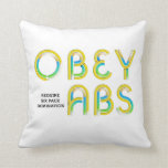TOP Obey Abs Pillow