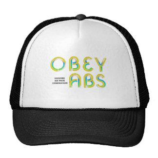 TOP Obey Abs Trucker Hat