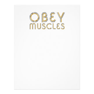 TOP Obey Muscles Personalized Flyer