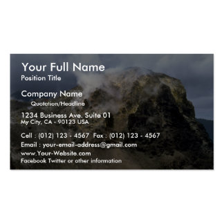 Top of Krakatoa volcano, Indonesia Business Card Templates