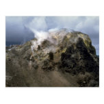 Top of Krakatoa volcano, Indonesia Postcard