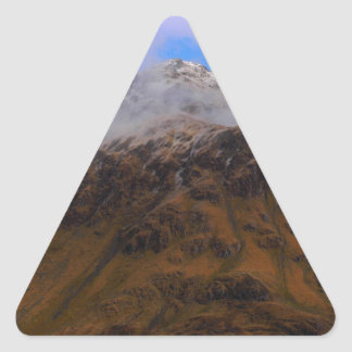 Top of Mountain Triangle Sticker