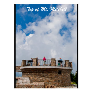 Top of Mt. Mitchell Postcard