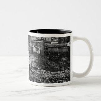 Top of rue Champlain  Paris, 1858-78 Two-Tone Coffee Mug