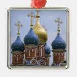 Top of Russian Orthodox Church in Russia Metal Ornament