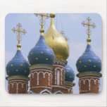 Top of Russian Orthodox Church in Russia Mouse Pad