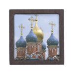 Top of Russian Orthodox Church in Russia Premium Keepsake Box