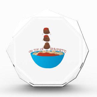 Top Of Spaghetti Award
