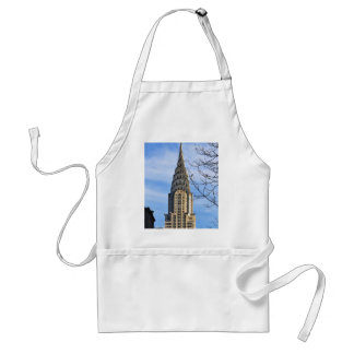 Top of the Chrysler Building, Bare Trees Adult Apron