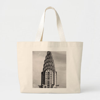 Top of the Chrysler Building NYC - B&W Bags