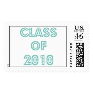 top of the class graduation postage stamp