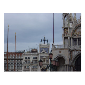 Top of the Clock Tower, St. Mark's Square, Venice Postcard